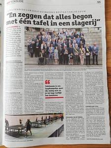 TTC Oostduinkerke Krantenartikel 50 jarig bestaan juni 2019