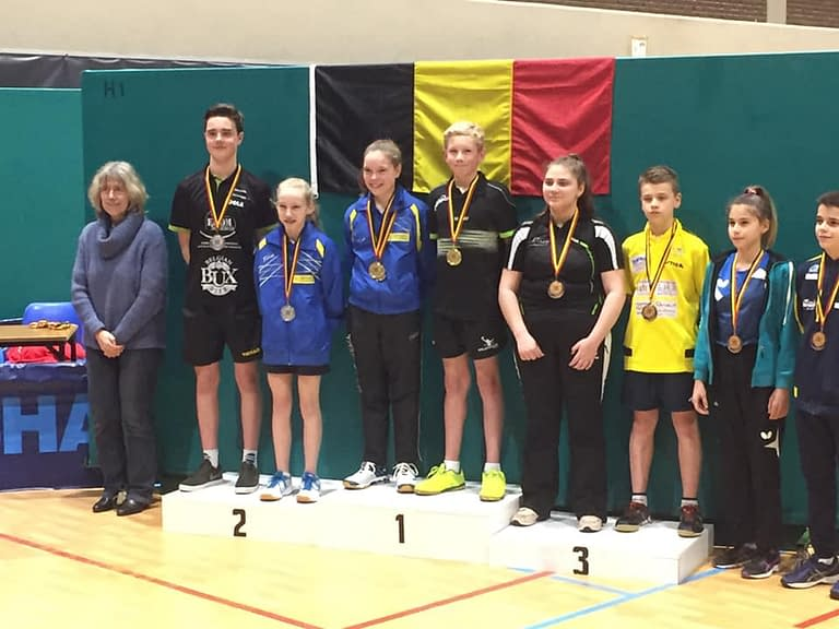 TTC Oostduinkerke Belgisch Kampioenschap 20182019