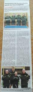 TTC Oostduinkerke Krantenartikel kampioenenploegen mei 2019