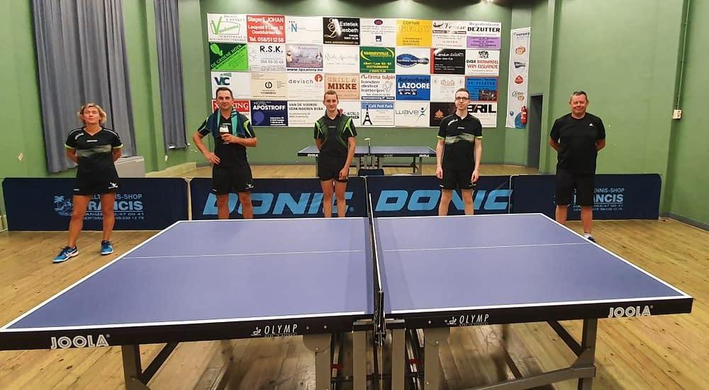 TTC Oostduinkerke Clubkampioenschap D 20192020