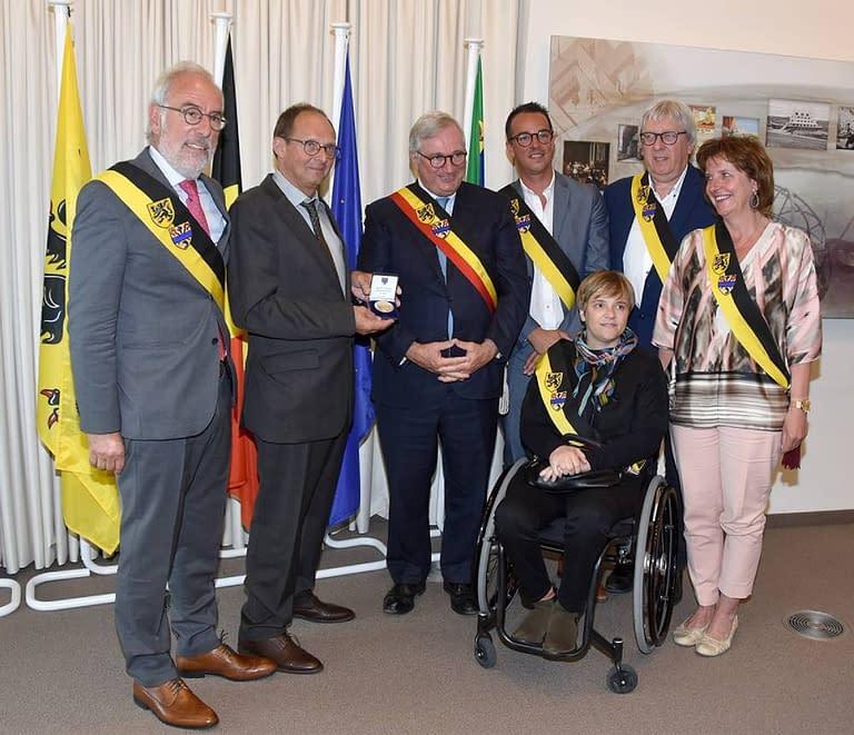 TTC Oostduinkerke 50 jaar Gemeente Koksijde Medaille 20182019