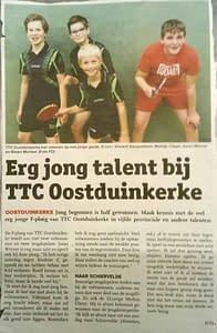 TTC Oostduinkerke Krantenartikel F ploeg oktober 2017